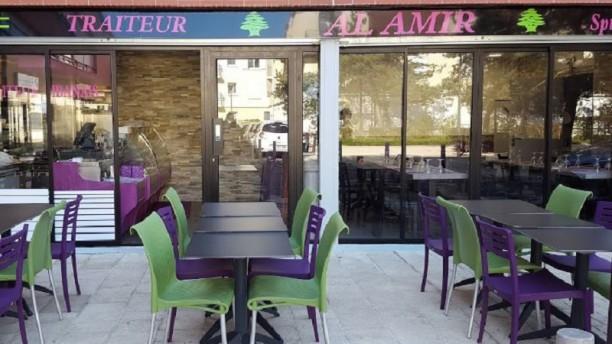 Al Amir Vue de la terrasse