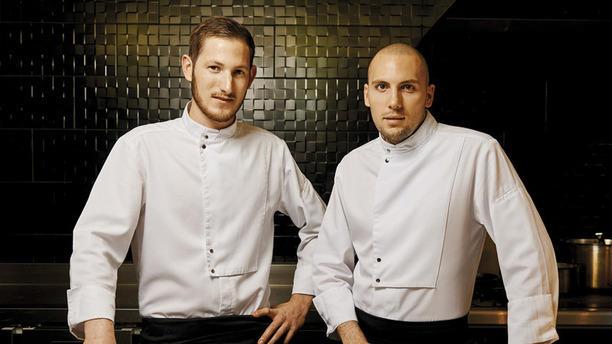 Côté Rue Le Chef Rudy et Son second Pierre Damien