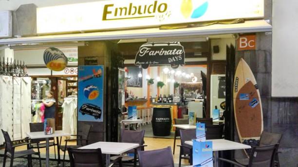 Embudo Café vista del exterior