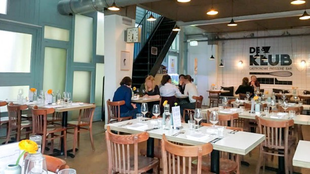 De Klub Het restaurant