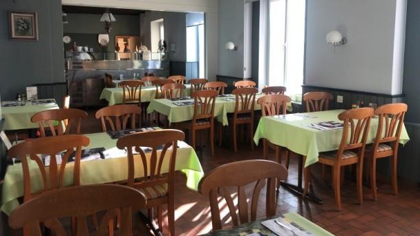 Le St-Louis Salle du restaurant