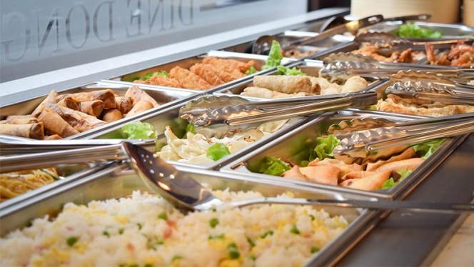 Buffet plats chauds - Dine Dong, Lyon