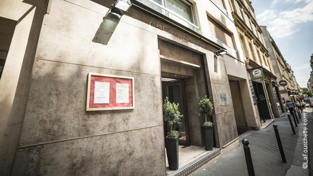 Café des Lettres Devanture Café des Lettres