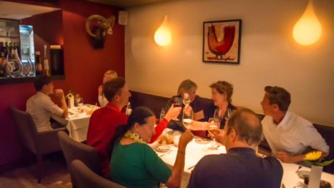 Het restaurant - DenC, Dik & Cunningham, Amsterdam