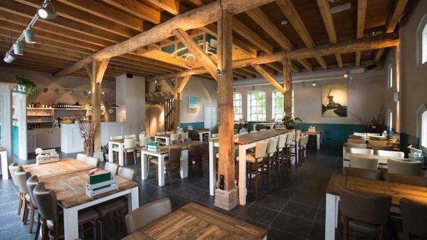 Pannenkoekenboerderij Aan de Linge Het restaurant