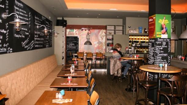 De Bicker eten en drinken Restaurantzaal