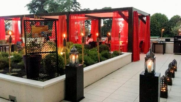 Lubnan Vue terrasse
