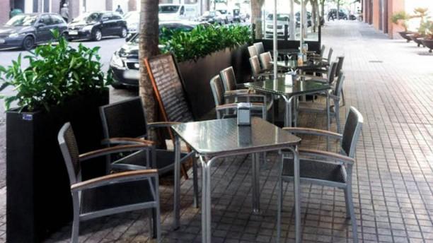 Domo Restaurant terraza