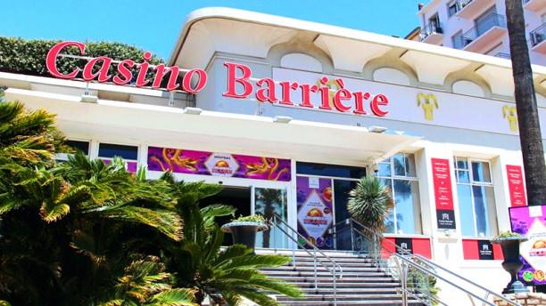 Restaurant Café Barrière - Casino Barrière Saint Raphaël Entree du casino