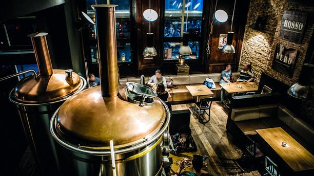 Bierfabriek Delft Het restaurant