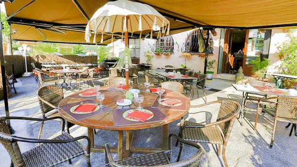Auberge de Provence Terrasse