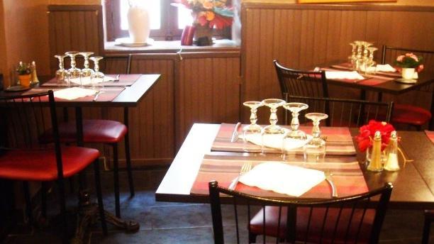 Restaurant Midi Pile Salle du restaurant