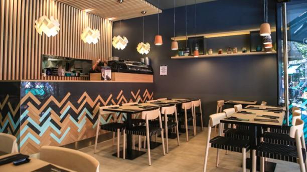 Côté Sushi Rambuteau Salle du restaurant