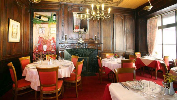 Auberge saint Louis Vue de la salle
