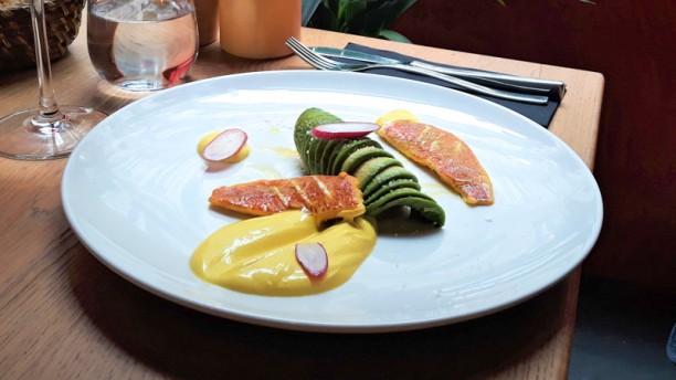 Binôme Rouget à l'huile d'olive