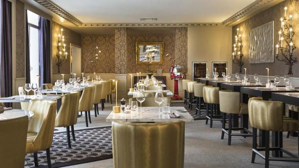 Le 85 Restaurant - Hôtel Barrière Le Grand Hôtel Enghien-les-Bains Salle de restaurant