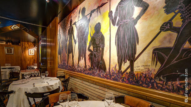 Restaurant la gazelle paris 75017 ternes porte - Auberge dab porte maillot restaurant ...