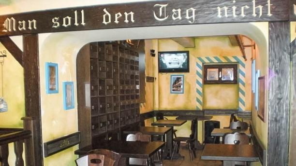 Biergarten sala