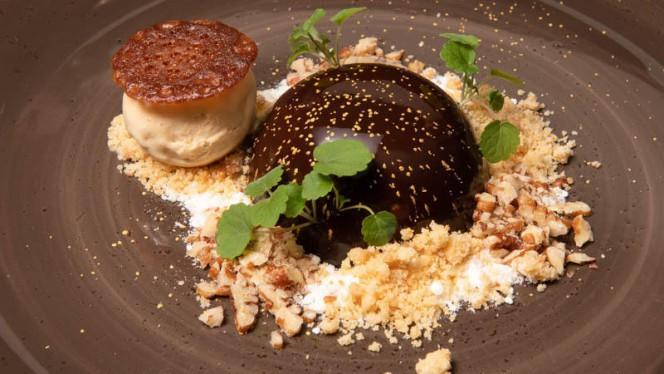 Bombe au Chocolat - Brasserie Ambassade, Amsterdam