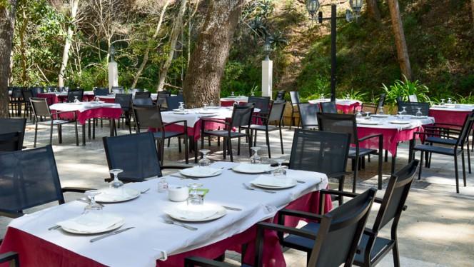 terraza - Molí de Xirles,