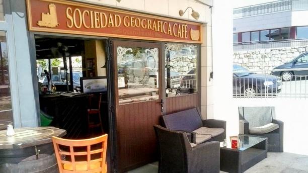 Sociedad Geográfica del Guadarrama Café Entrada