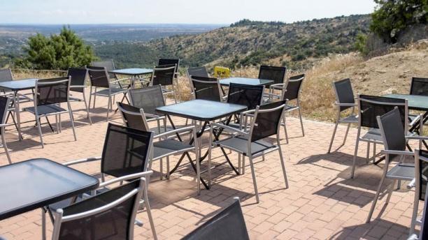 Sociedad Geográfica del Guadarrama Café Vista de la terraza