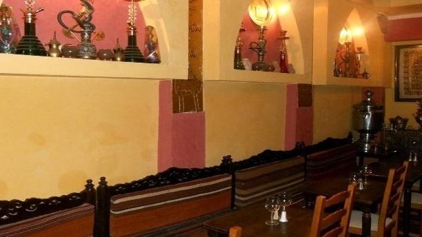 Bagdad Café Vue de la salle