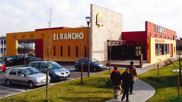 El Rancho Franconville Vue façade