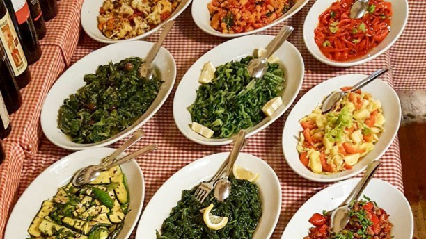 La Locanda della  Pacchiana Buffet di verdure