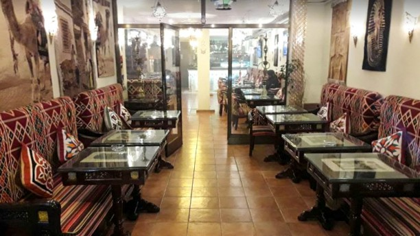 Elbasha Sala del restaurante