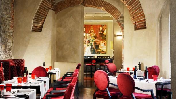 ... Osteria della Pagliazza Vista sala ... 31628d29d9ed