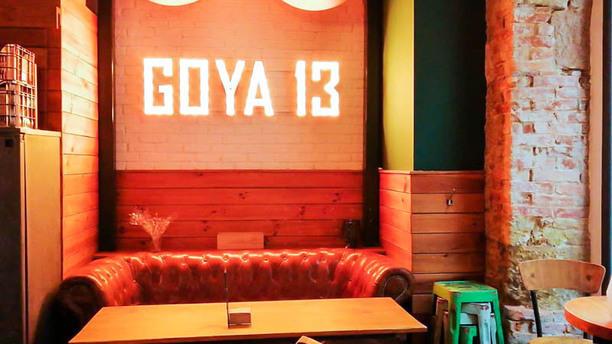 Goya 13 Vista de la sala