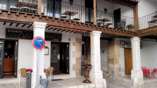 Restaurante Café de checa Entrada