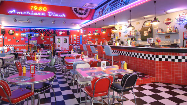 restaurante 1950 american diner pontedera en pontedera opiniones men y precios. Black Bedroom Furniture Sets. Home Design Ideas
