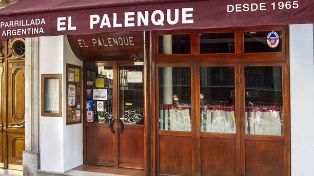 El Palenque Façade du restaurant