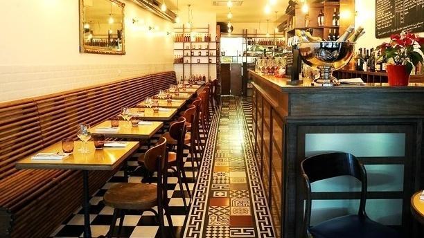 Salle du restaurant - Les 5, Paris