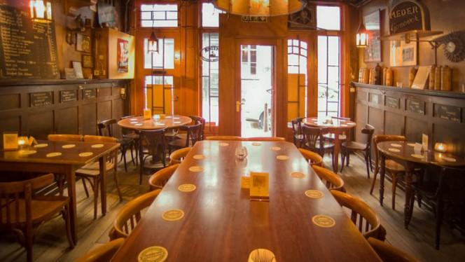 Het restaurant - Piet de Leeuw, Amsterdam