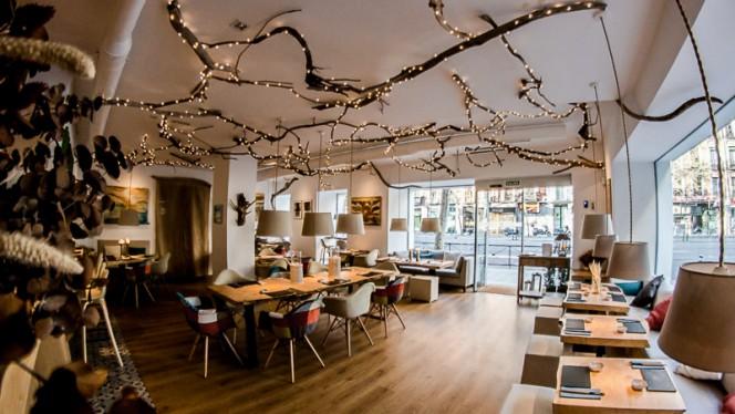 Vista sala - Art & Sushi Madrid, Madrid