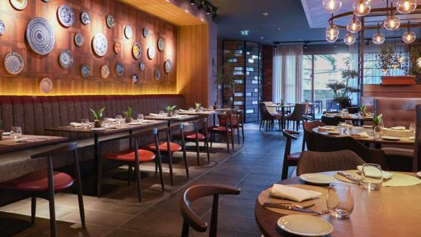 soMos Restaurant & Lounge Vista do interior