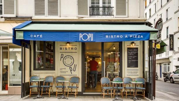 Popu Bistro à Pizza 12 rue du Champ de Mars