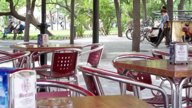 Vista plato - Beerland, Zaragoza