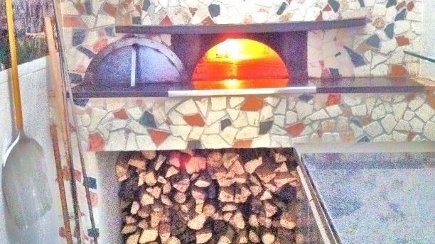 Il Forno di Napoli Vue du four au feu de bois