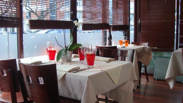 Restaurant Brindille Vue de la salle
