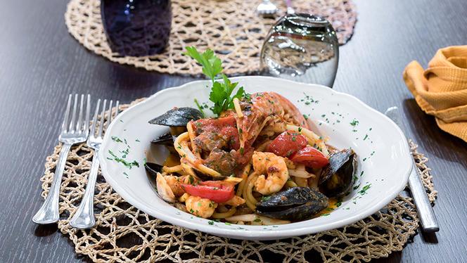 Spaghettone fatto in casa allo scoglio - Civico Zero, Cologno Monzese