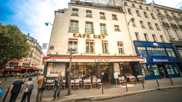 Café Rey Façade du restaurant