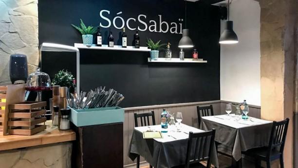 SòcSabaï Interior del local