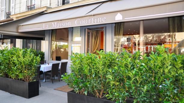 Menu Restaurant La Maison Courtine Paris