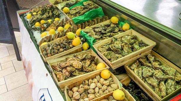 Brasserie de Rive Les fruits de mer