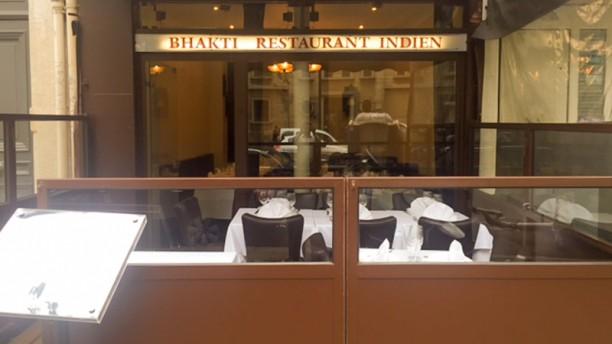 Bhakti Façade du restaurant