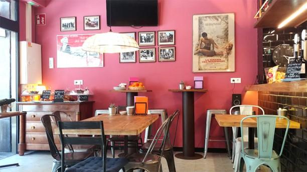 Notorious Jazz Café Vista sala